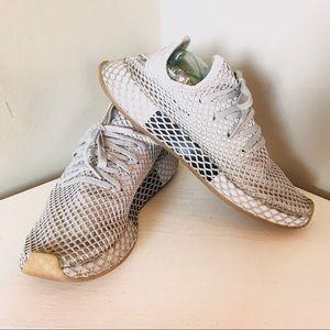Adidas Deerupt Runner Textile Trainers Sneakers